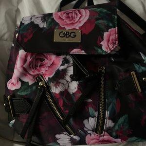 GBG Los Angeles Floral Backpack